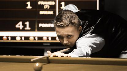 Avontuur van 13-jarige Belg op snookertoernooi dat O'Sullivan en Selby ooit wonnen, zit er na knap parcours op