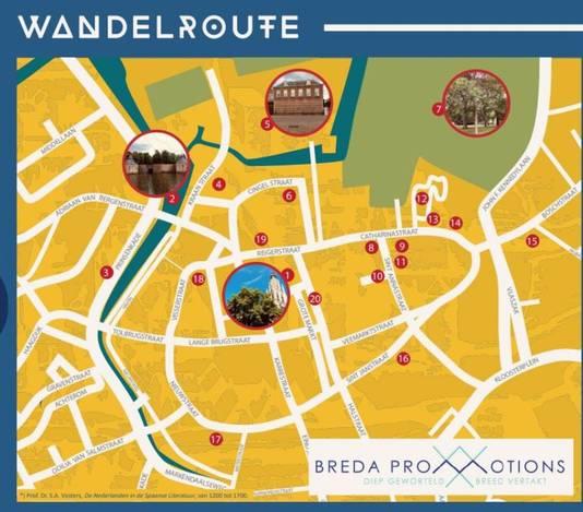 Het Spaans rondje Breda.