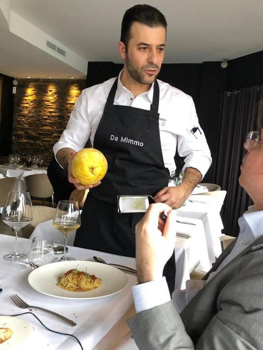 Le chef Nicholas Tsiknakos.