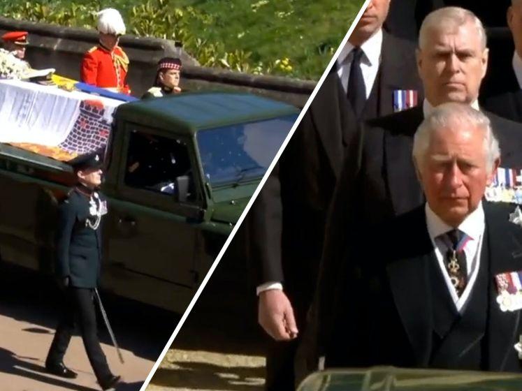 Prins Philip bijgezet in koninklijke grafkelder
