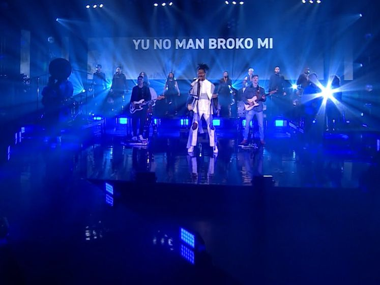 Met dit nummer doet Jeangu Macrooy mee aan het songfestival