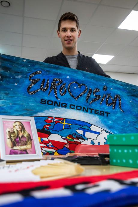 Roel Schaap kan niet zonder Songfestival en heeft al kaartjes voor de hele week
