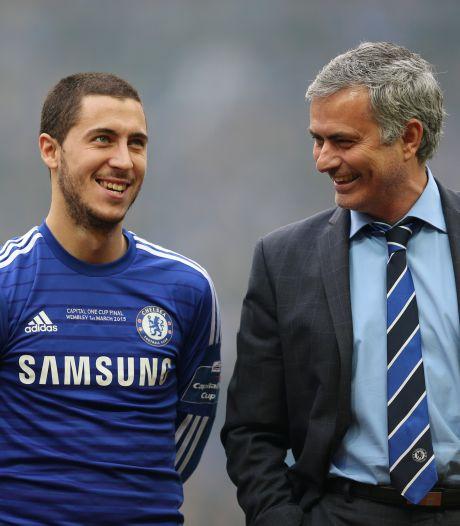 """Le regret de José Mourinho concernant Eden Hazard: """"Il ne travaille pas beaucoup à l'entraînement"""""""