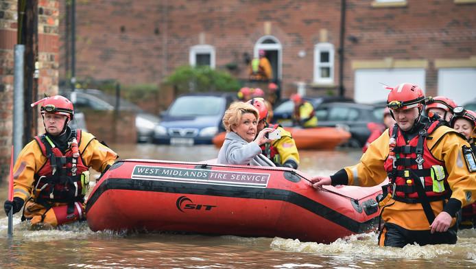 In York worden maandag mensen uit hun huis geëvacueerd