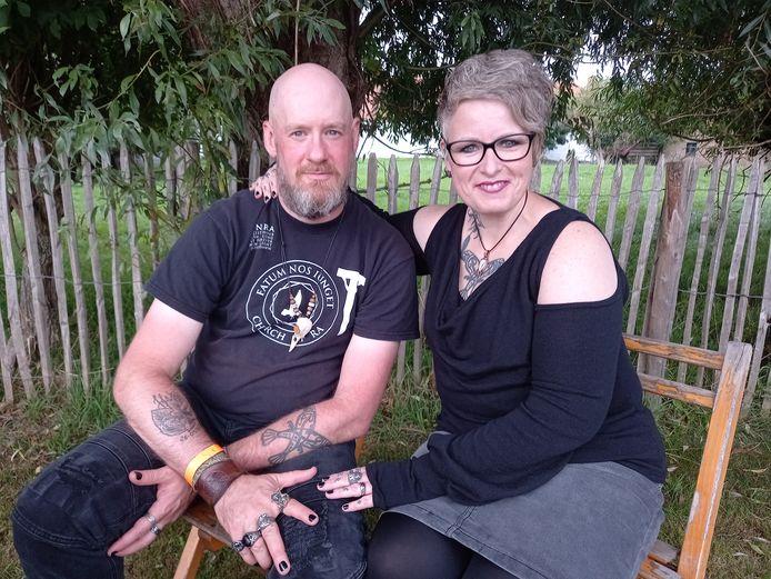 Jürgen (42) en Wendy Thienpont (44) uit Gent.