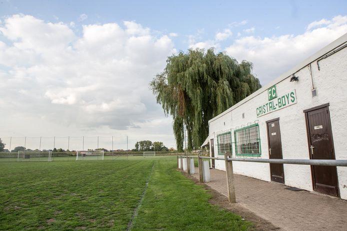 FC Cristal Boys kunnen op hun terrein blijven spelen dankzij uittredend burgemeester Eddie De Block.