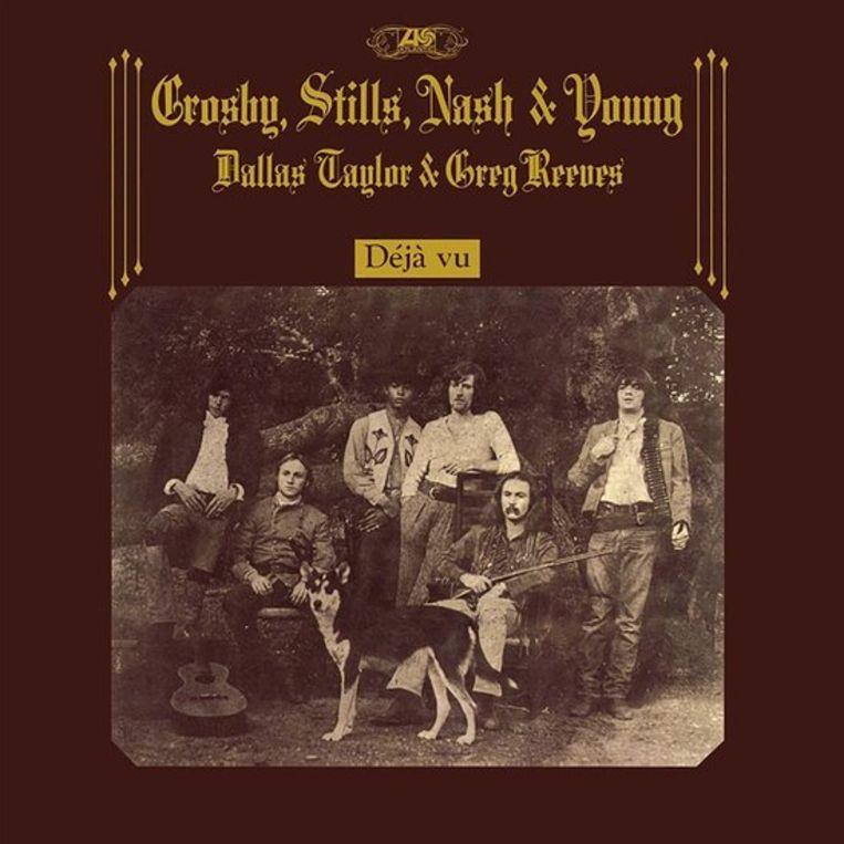 Crosby, Stills, Nash  & Young Déjà vu Beeld RV