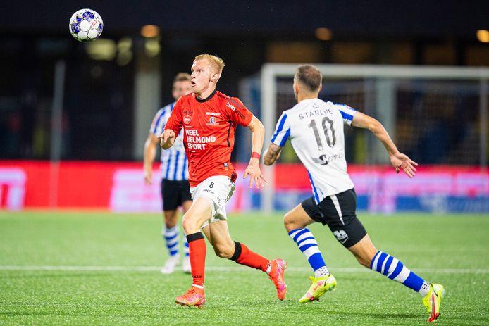 Jellert van Landschoot scoorde maandag nog wel, maar Helmond Sport kwam onherkenbaar voor de dag in de derby.
