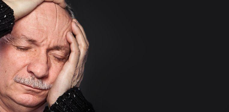 Clusterhoofdpijn: 'Alsof een spijker dwars door mijn wang achter mijn oog langs bij mijn kruintje weer naar buiten komt'.  Beeld Colourbox