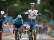 Taco van der Hoorn zorgt voor een verrassing in Benelux Tour, zware val Kelderman
