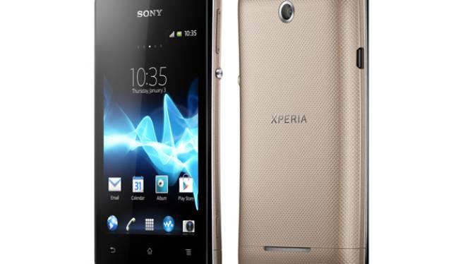 Sony presenteert goedkope smartphone Xperia E