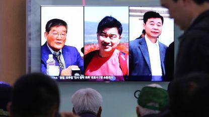 """Noord-Korea laat drie Amerikanen vrij: """"Ze lijken in goede gezondheid"""""""