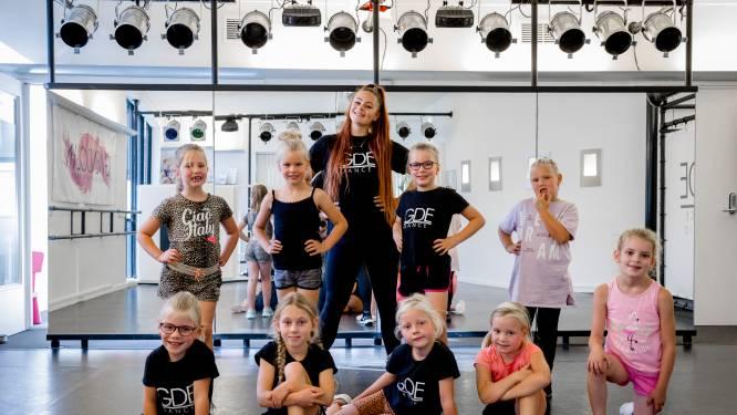 Gwendolyn is pas 24 en runt nu al twee dansscholen: 'Iedere dag mee bezig, maar voelt nooit als werken'