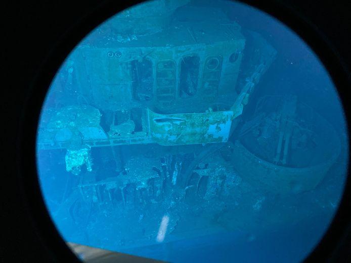 Le destroyer de 115 mètres de long avait coulé le 25 octobre 1944 lors de la bataille du golfe de Leyte.