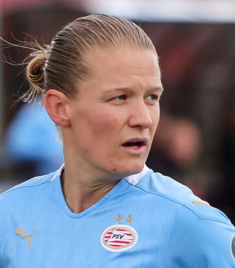PSV-aanvoerster Mandy van den Berg: 'We smachten naar die beker'