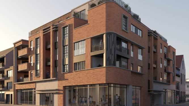 Mogelijk 24 nieuwe appartementen en grote handelsruimte in Centrum
