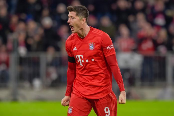 Robert Lewandowski was opnieuw van doorslaggevende waarde voor Bayern München.