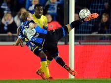 Vormer scoort met fraaie volley voor Club Brugge