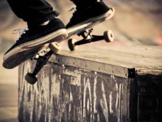 Tijdelijk skatepark op parking Portois
