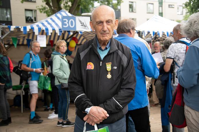 Bert van der Lans een dag voor de start van zijn vorige Vierdaagse in 2019.