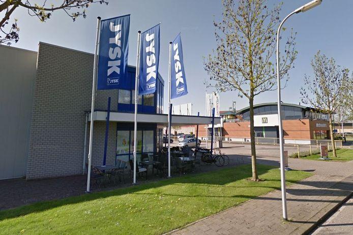 De Jysk in Zwolle.