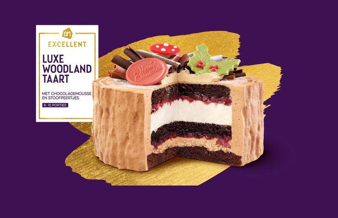De Luxe Woodland-taart.