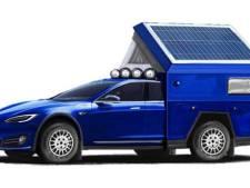 Een Tesla als kampeerauto: deze Amerikaan heeft hem gebouwd