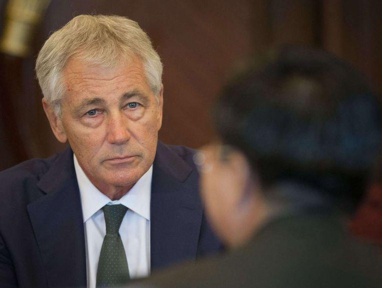 Chuck Hagel Beeld AFP