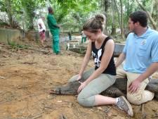 Sterrin (24) uit Rijssen vangt niet alleen slangen maar ook krokodillen