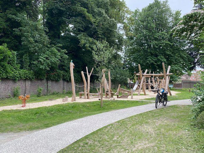 Het heraangelegde Vogelenzangpark.