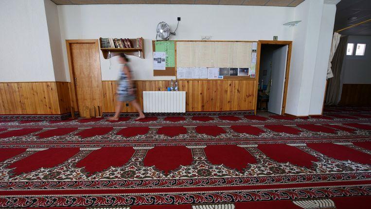 De moskee in Ripoll waar het vermoedelijke brein achter de aanslag in Barcelona preekte. Beeld reuters
