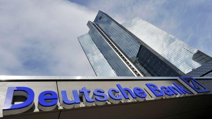 Het hoofdkantoor van Deutsche Bank