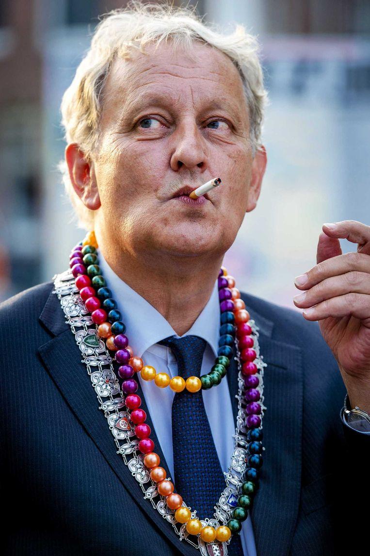 Eigenlijk staat de burgemeester slechts één ding in de weg: zijn zwakke gezondheid. Beeld ANP
