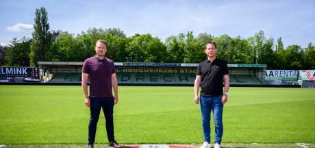 Nieuw technisch duo bij FC Dordrecht: 'Niet gekomen om voor laatste plekken te spelen'
