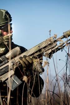 Commando's oefenen niet langer met scherpe munitie