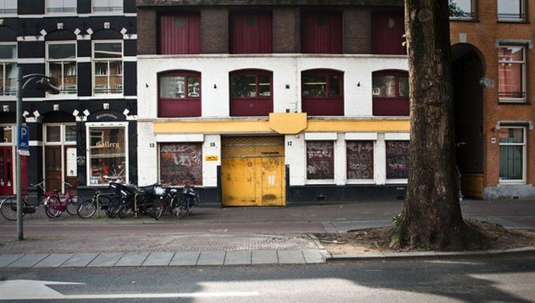 Overtoom 13-17, straks een hotel van Charles Geerts Beeld Maarten Steenvoort