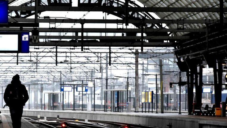 De NS wil een snellere treinverbinding tussen Amsterdam en Berlijn Beeld ANP