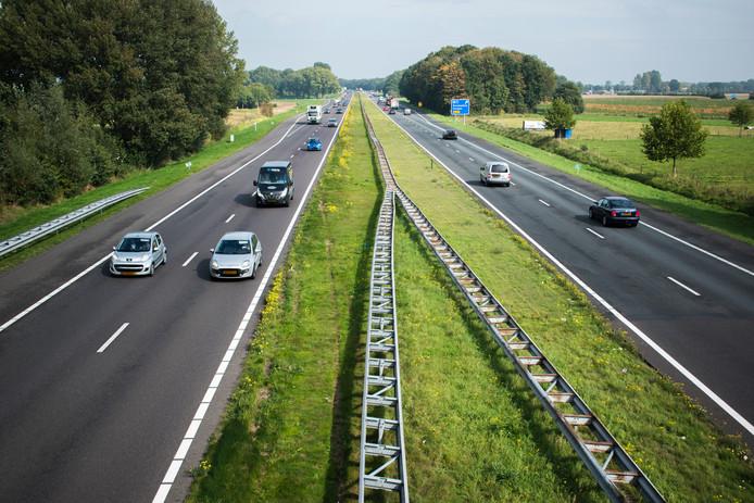 stockbd A50 Ravenstein snelweg anwb