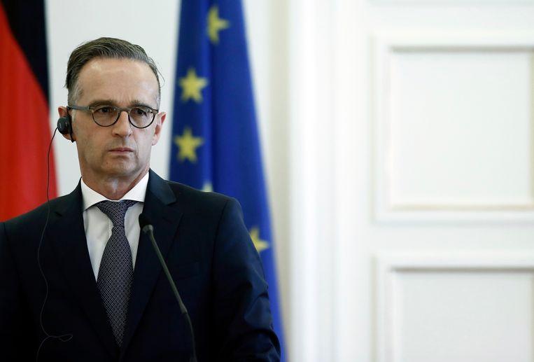 Duits minister van Buitenlandse Zaken Heiko Maas. Beeld EPA