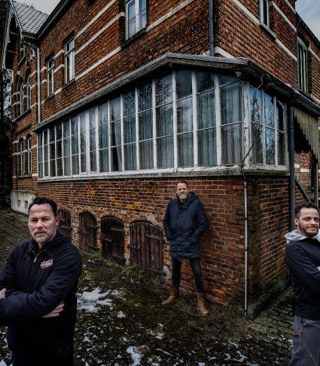 Oude villa Budel-Dorplein decor voor spannende clip van Tigre Blanco