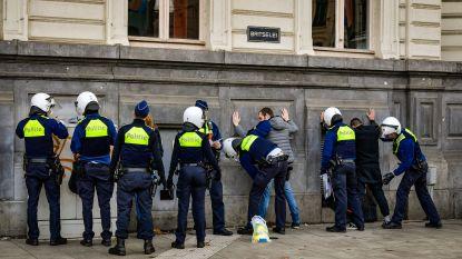 Protestactie met 150 gele hesjes goed voor 50 arrestaties