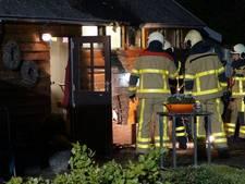 Schuur in Ulft fors beschadigd door brand