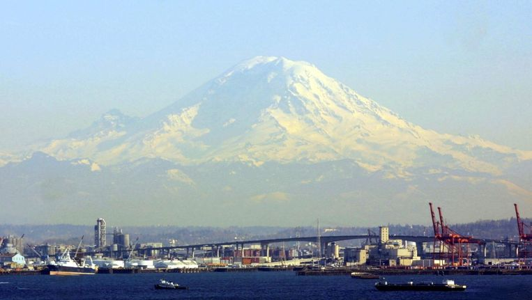 Mount Rainier Beeld EPA