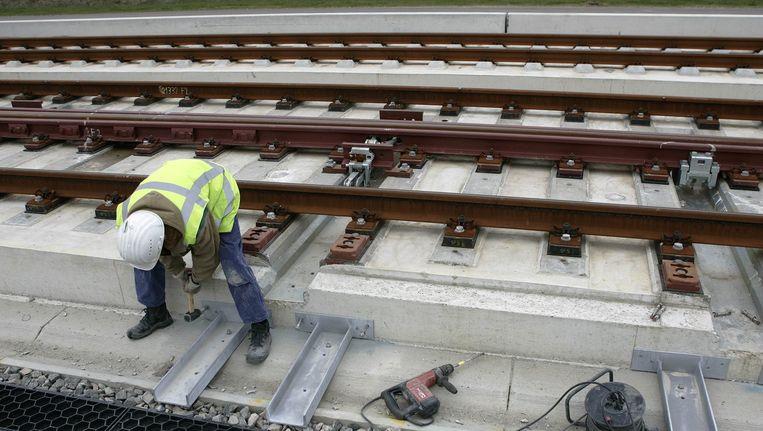 De aanleg van de HSL-Zuid Beeld anp