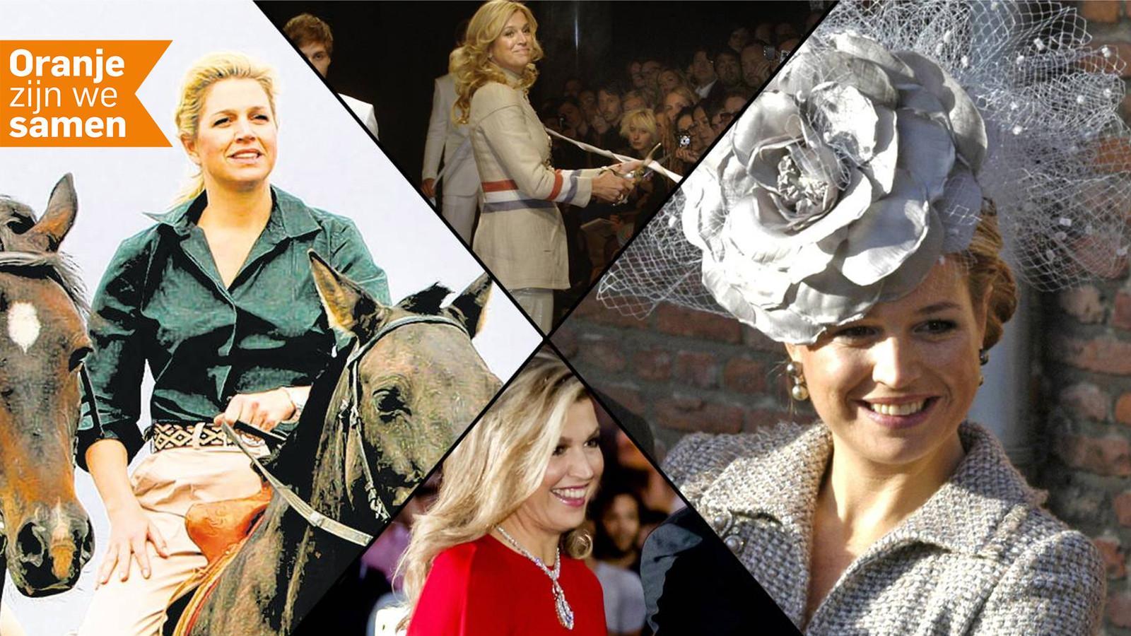 De verschillende outfits van Koningin Máxima.