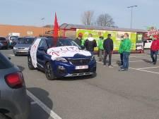 À Charleroi, les syndicats manifestent en cortège