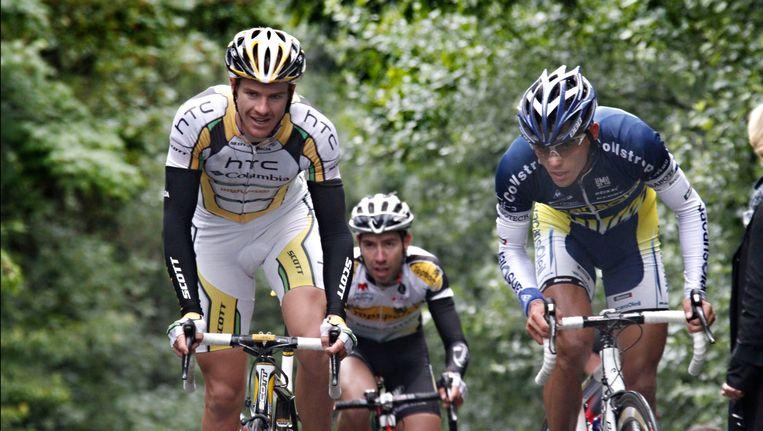 Vorig jaar won Adam Hansen (l) het eindklassement (archieffoto). Beeld PHOTO_NEWS