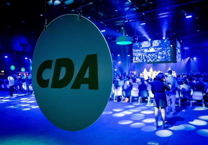 CDA-leden op het CDA partijcongres.