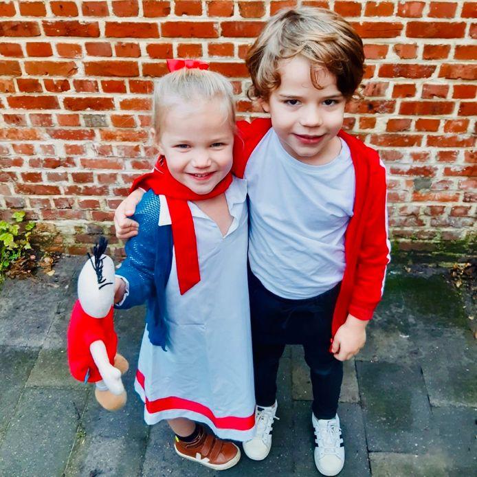 Deze twee kinderen doen alvast hun uiterste best, maar wie wordt de beste lookalike van één van de personages uit Suske en Wiske ?