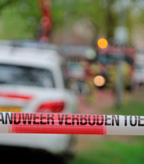 Brandweer redt mensen van balkon bij brand in Amstelveen